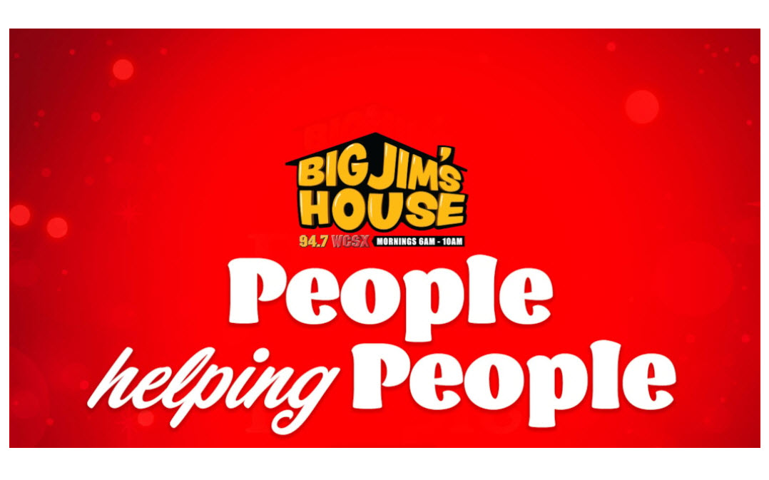 94.7 WCSX-FM Presents 6th Annual People Helping People Campaign to Assist Families in Need