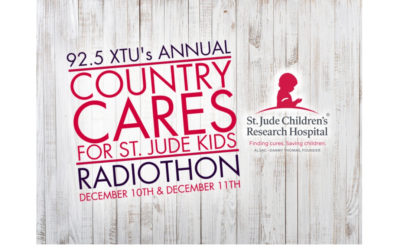 92.5 XTU Presents Radiothon to Benefit St. Jude Children's Research Hospital