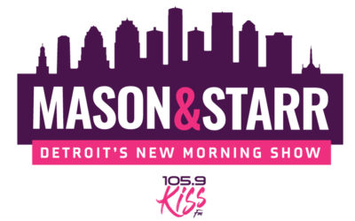 Beasley Media Group to Debut the MASON & STARR Morning Show in the Motor City