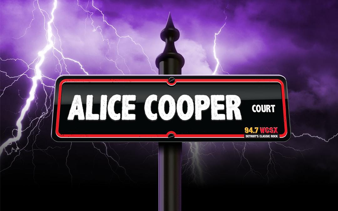 Classic Rock WCSX-FM To Unveil Alice Cooper Court at Eloise Asylum